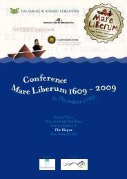 Final program Mare Liberum - TMC Asser Instituut