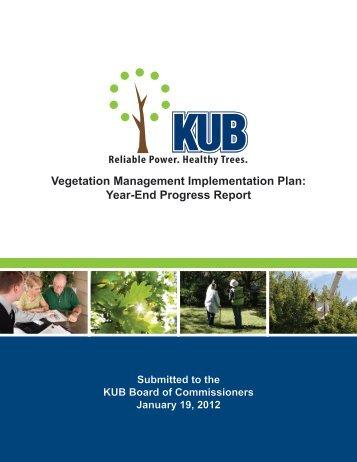 Vegetation Management Implementation Plan - Knoxville Utilities ...