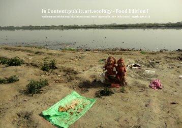 In Context:public.art.ecology - Food Edition I - E.S.C.U.L.E.N.T.A.