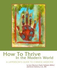 How To Thrive - The Reidy Center for Alternative Medicine and ...