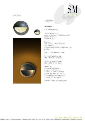 Lampas 203 - SM Lys