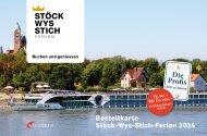 Bestellkarte Stöck Wys Stich Ferien Download und Druck - Travel ...