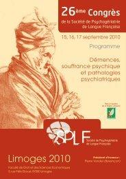SPLF : 26e Congrès - Nexcom-events.com