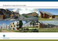 Boligpolitik for Køge Kommune 2009