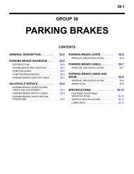 PARKING BRAKES - Outlander-Forum