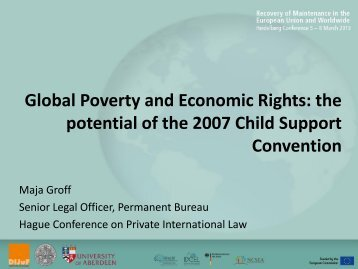 Global Poverty and Economic Rights: the potential of the 2007 Child ...