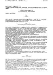 Marche -Legge regionale n.28 del 14 novembre 2001