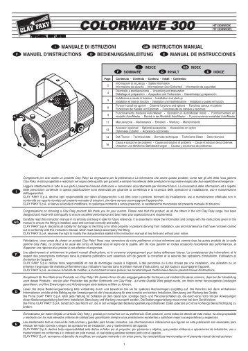 099433-Istr. CP COLOR 400 - Clay Paky