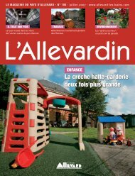 L'Allevardin n°105 - ville d'Allevard