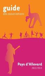 Télécharger le guide des associations 2012/2013 - ville d'Allevard