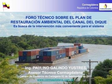 Paulino Galindo - Cámara de Comercio de Cartagena