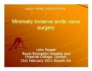Minimally invasive aortic valve Minimally invasive aortic valve surgery
