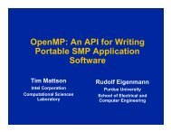 OpenMP: An API for Writing Portable SMP Application Software