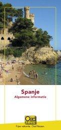 Spanje - Oad Reizen!