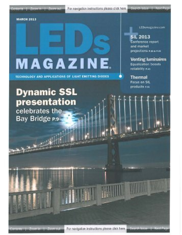 Truly Round LED Sources Deliver Optimal ... - Luminus Devices