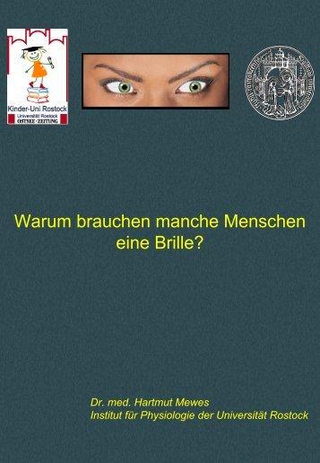 Download Vorlesungsunterlagen (PDF, 3,3MB) - Kinder-Uni Rostock