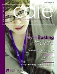 CARE Vol 23 Issue1 - College of Licensed Practical Nurses of Alberta