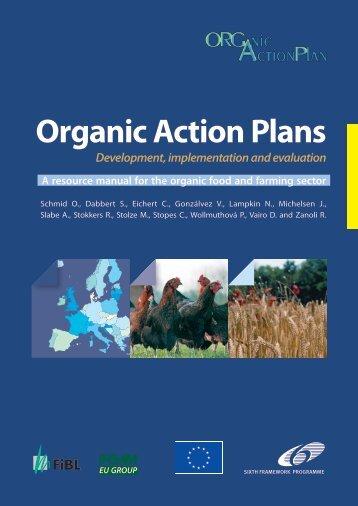 ORGAP manual - European Action Plan for Organic Food and Farming