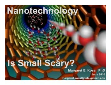 What is Nanotechnology? - Repositorio Digital IAEN