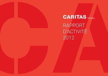 RAPPORT D'ACTIVITé 2012 - Caritas Genève
