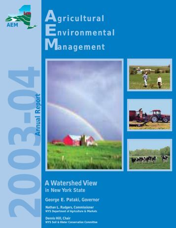 2003-04 Annual Report - NYS Soil & Water Conservation Committee
