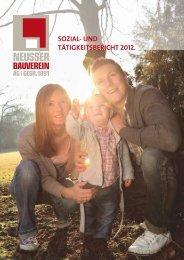 Sozial- und Tätigkeitsbericht 2012 (PDF) - Neusser Bauverein AG