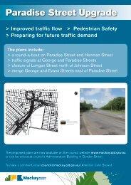 Paradise Street Upgrade - Mackay Regional Council