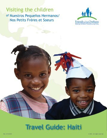 Travel Guide: Haiti - Friends of the Orphans