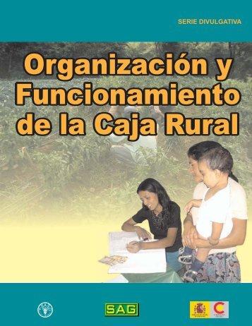 Organización de las Cajas Rurales