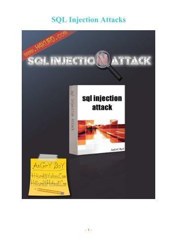 SQL Injection Attacks - Intelligent Exploit