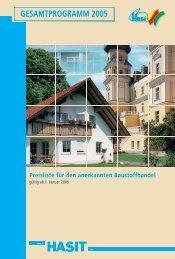 Gesamtprogramm 2005