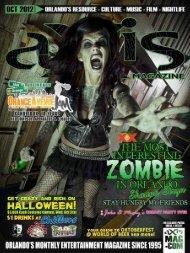 October 2012 - aXis Magazine