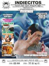 Revista Indiecitos Septiembre 2012