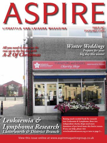 Leukaemia & Lymphoma Research - Aspire Magazine