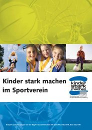 Kinder stark machen im Sportverein - TuS Tarmstedt Handball