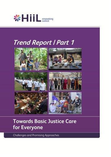 Trend Report | Part 1 - HiiL