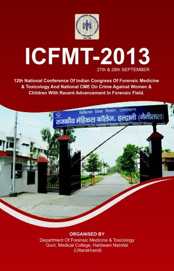 Final ICFMT-2013 Brochure.cdr - forensic medicine