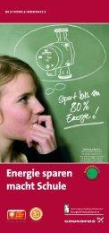 Energie sparen macht Schule - Grundfos