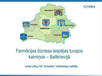 Farmaceitiskā biznesa iespējas tuvajos kaimiņos - Baltkrievijā - LIAA