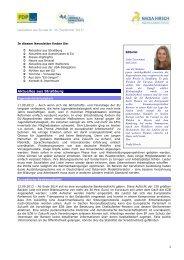 Ausgabe Nr. 46, September 2013 - Nadja Hirsch MdEP