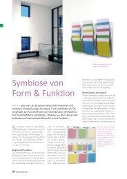 Symbiose von Form & Funktion - Helit