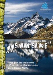 Suivant Sa Voie n°77 - Club Alpin Francais - Albertville - Free