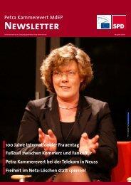 Infobrief - Ausgabe 03 - 2011 - Petra Kammerevert