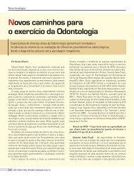 Novos caminhos para o exercício da Odontologia - Kina Scopin Hirata