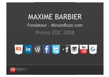 MAXIME BARBIER - Force EDC