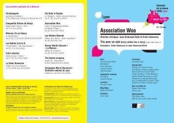Association Woo - Biennale de la Danse 2006