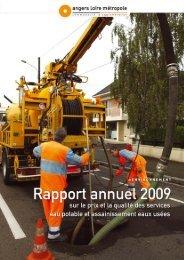 RAPPORT ANNUEL - Angers Loire Métropole