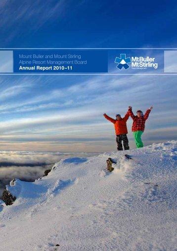 ARMB 2010-11 Annual Report - Mt Buller