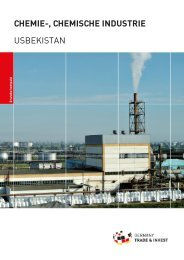CHEMIE-, CHEMISCHE INDUSTRIE USBEKISTAN - AHK Zentralasien