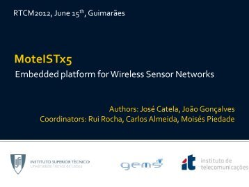Embedded platform for Wireless Sensor Networks
